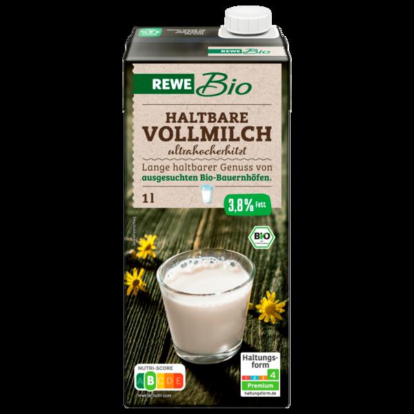 REWE Bio H-Vollmilch 3,8% 1l