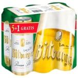 Bitburger Premium Pils 5+1 6x0,5l