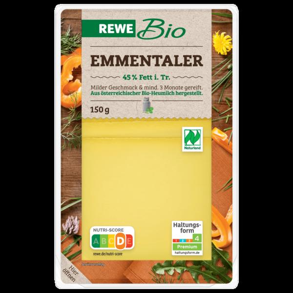 REWE Bio Emmentaler 150g