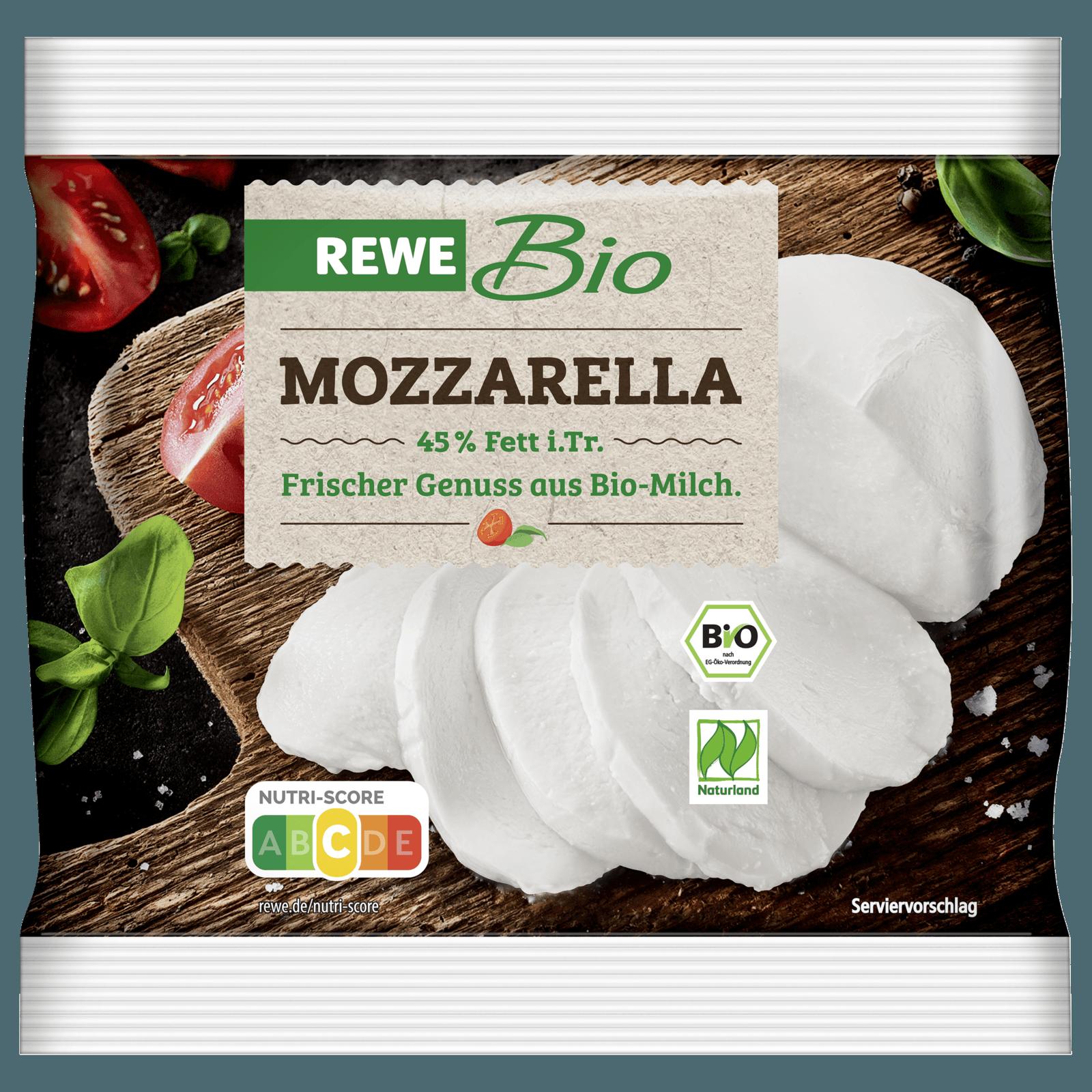 REWE Bio Mozzarella 125g