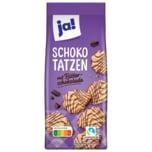 ja! Schokotatzen mit Zartbitterschokolade 250g