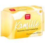 REWE Beste Wahl Feuchtes Toilettenpapier Kamille Nachfüllpack 60 Stück
