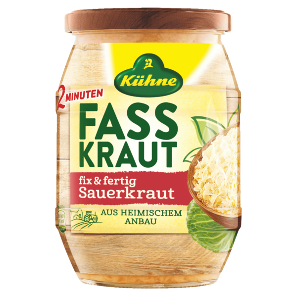 k hne fasskraut fix fertig sauerkraut 650g bei rewe online bestellen. Black Bedroom Furniture Sets. Home Design Ideas