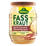Kühne Fasskraut Sauerkraut mit Speck & Zwiebeln 425ml