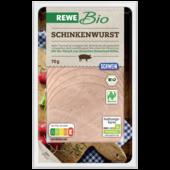 REWE Bio Schinkenwurst 70g