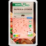 REWE Bio Paprika-Lyoner 70g