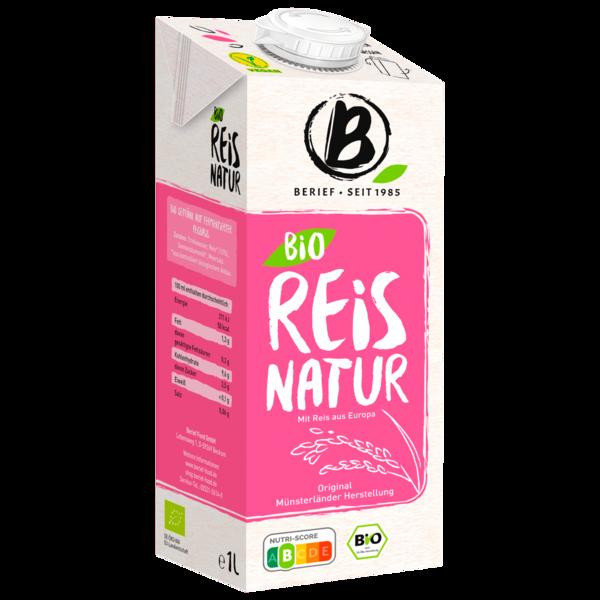 Berief Bio Reis-Drink Natur 1l