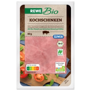 REWE Bio Kochschinken 80g