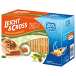 Leicht & Cross Knusperbrot Roggen 125g
