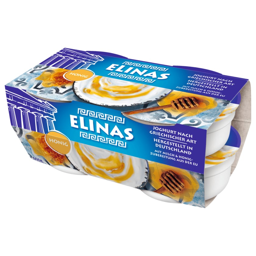 Elinas Joghurt Griechischer Art Honig 4x150g