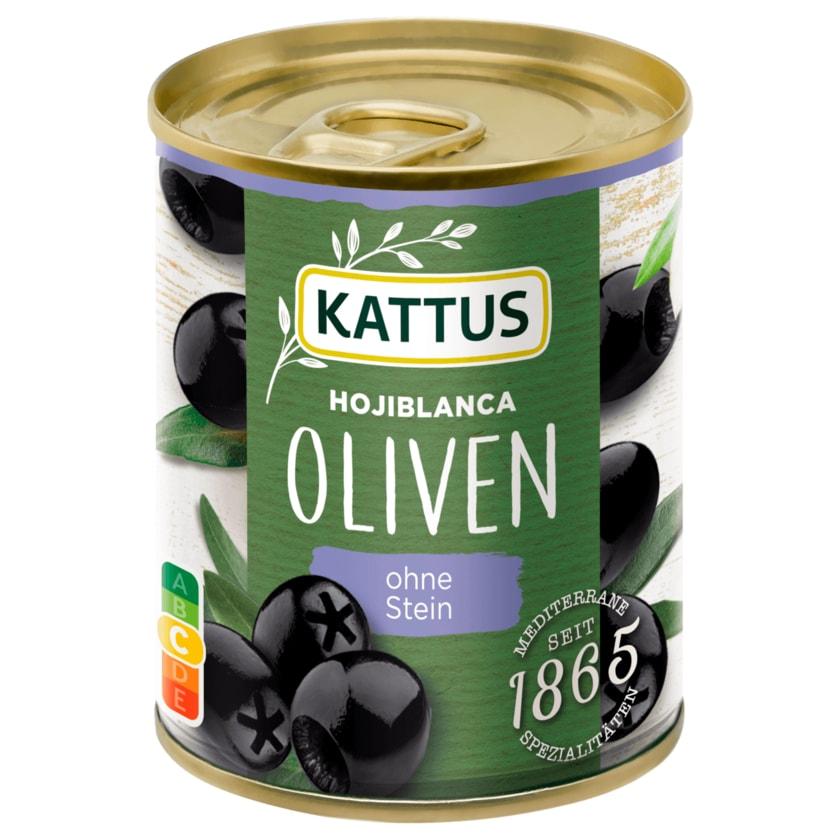 Kattus Schwarze Oliven entsteint 80g