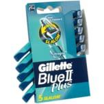 Gillette Einwegrasierer Blue II Plus Slalom 5 Stück