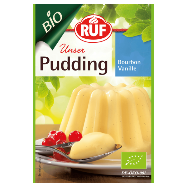 Ruf Bio Puddingpulver Vanille 80g