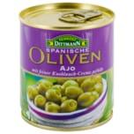 Feinkost Dittmann Manzanilla-Oliven grün mit Knoblauchcreme 85g
