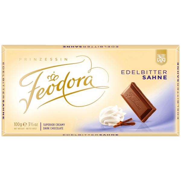 Feodora Edelbitter-Sahne 100g