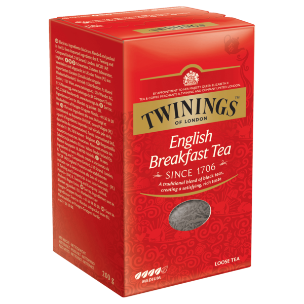 Twinings English Breakfast Tee lose 200g