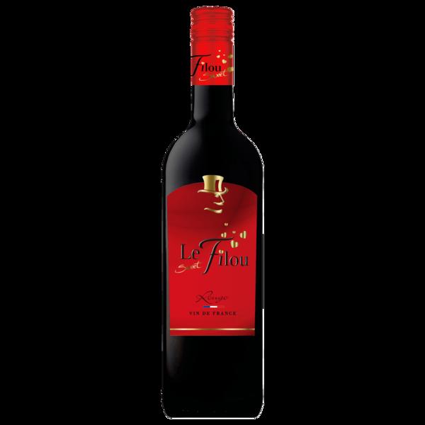 Le Sweet Filou Rotwein Rouge Süß 0,75l