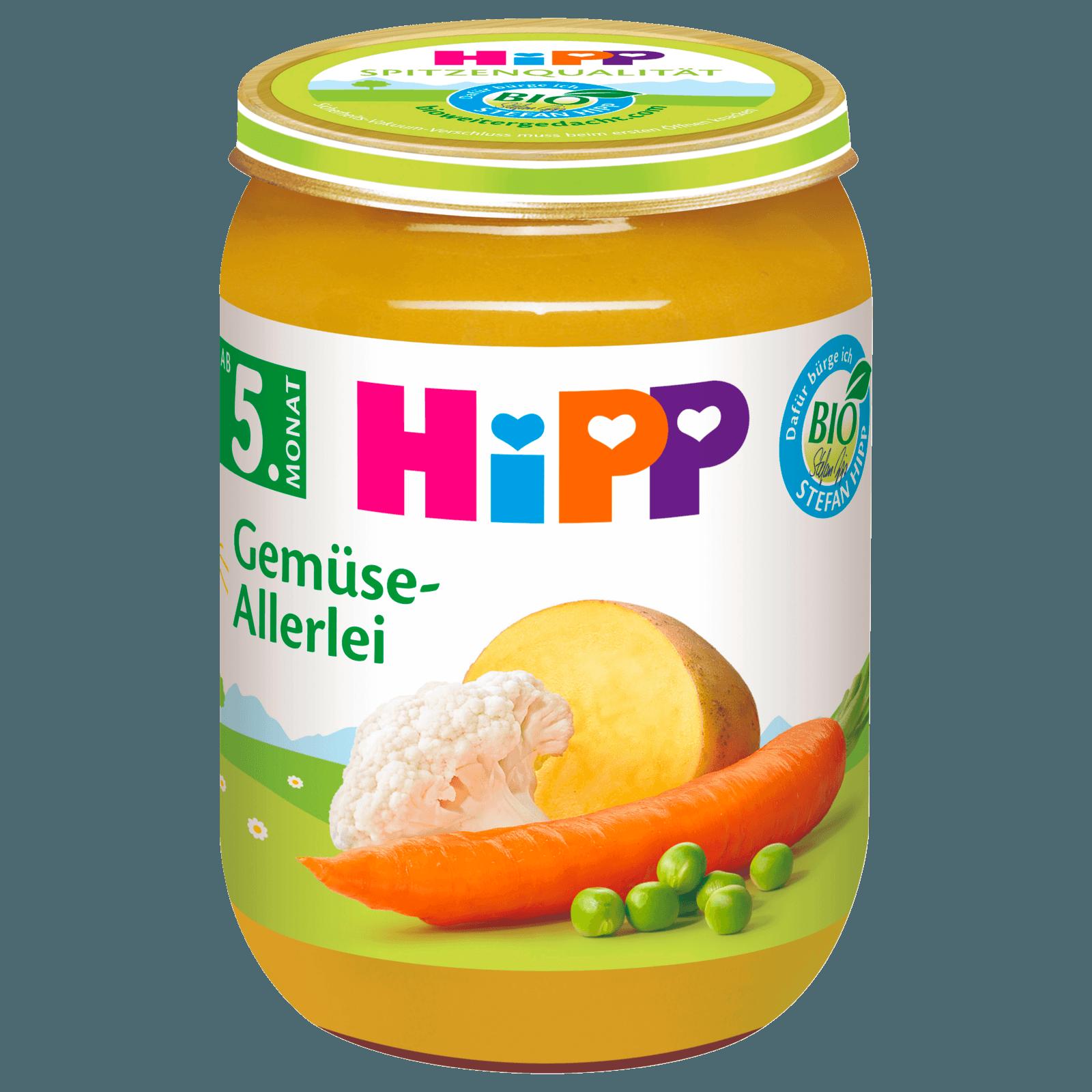 Hipp Gemüseallerlei 190g
