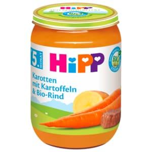 Hipp Karotten mit Kartoffeln & Bio-Rind 190g