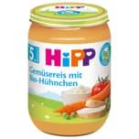 Hipp Gemüsereis mit Bio-Hühnchen 190g