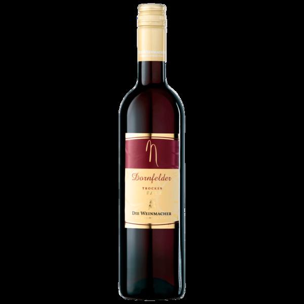 Die Weinmacher Rotwein Dornfelder QbA trocken 0,75l