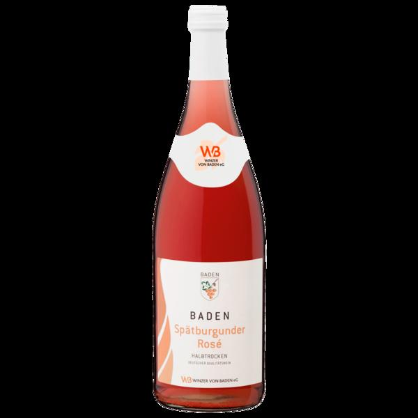 Baden Spätburgunder Rosé halbtrocken 1l