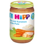 Hipp Reis mit Karotten & Bio-Pute 220g