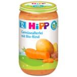 Hipp Gemüseallerlei mit Bio-Rind 250g
