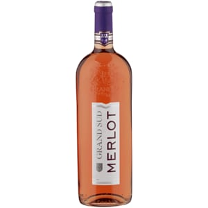 Grand Sud Merlot rosé halbtrocken 1l