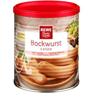 REWE Beste Wahl Bockwurst 400g
