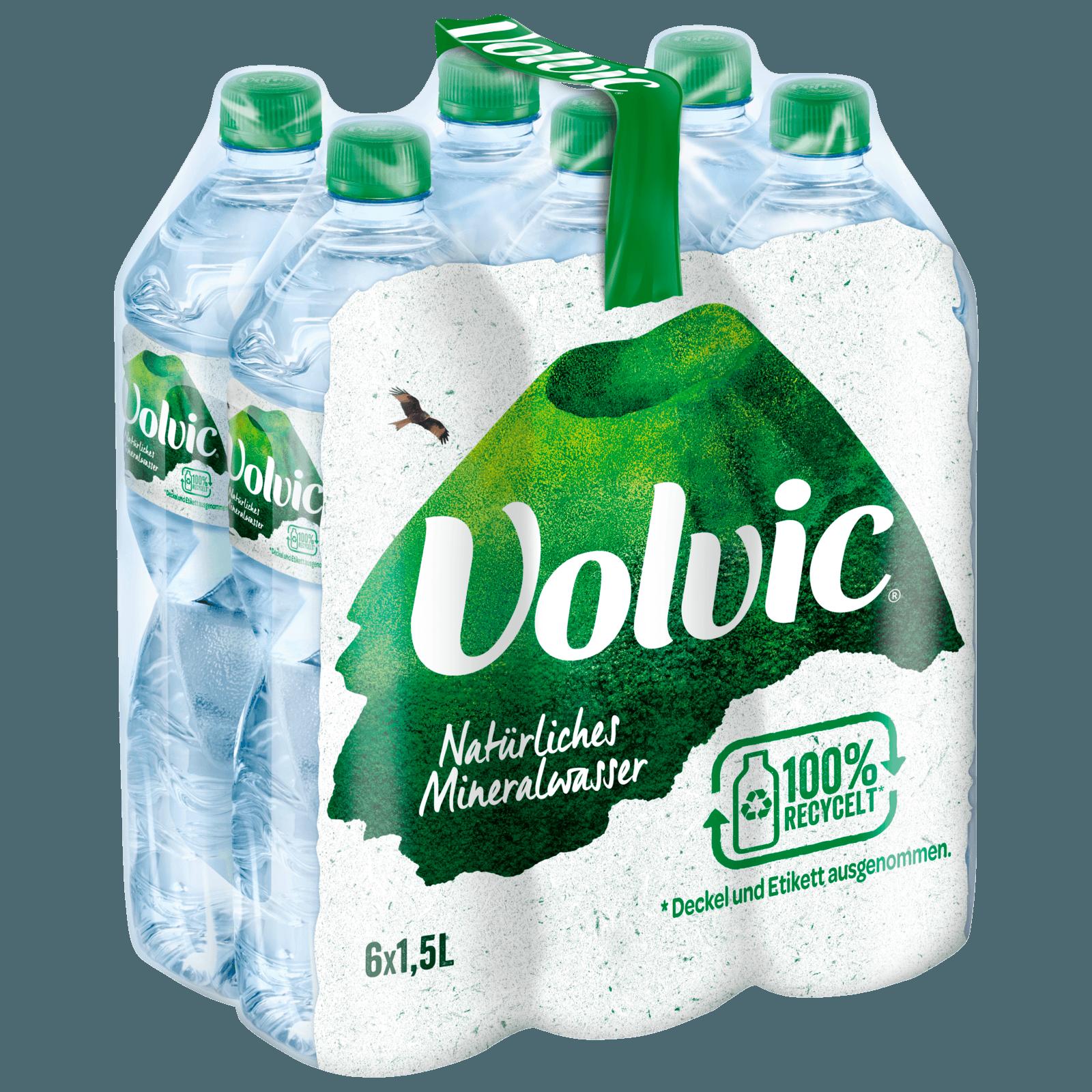 Volvic Mineralwasser Naturelle 6x1,5l