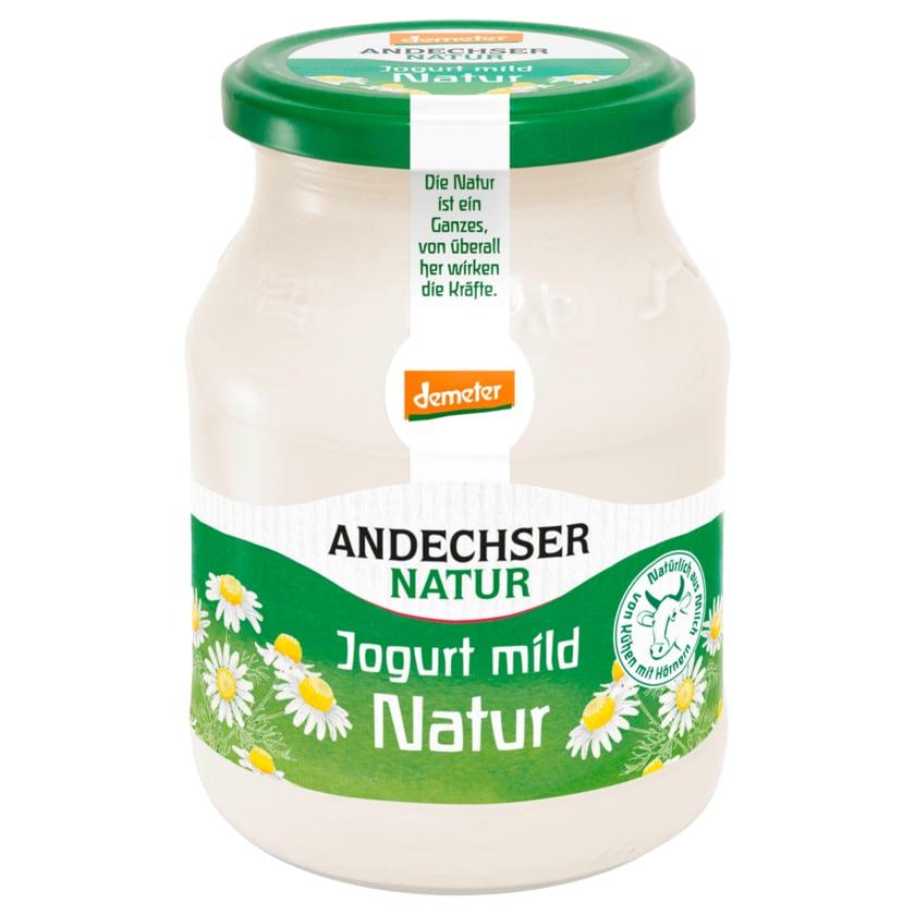 Andechser Demeter Bio Joghurt Mild 3,7% Fett 500g