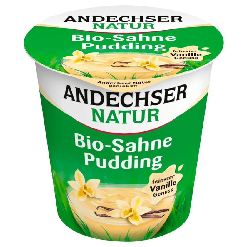 Andechser Natur Bio Sahnepudding Vanille 150g