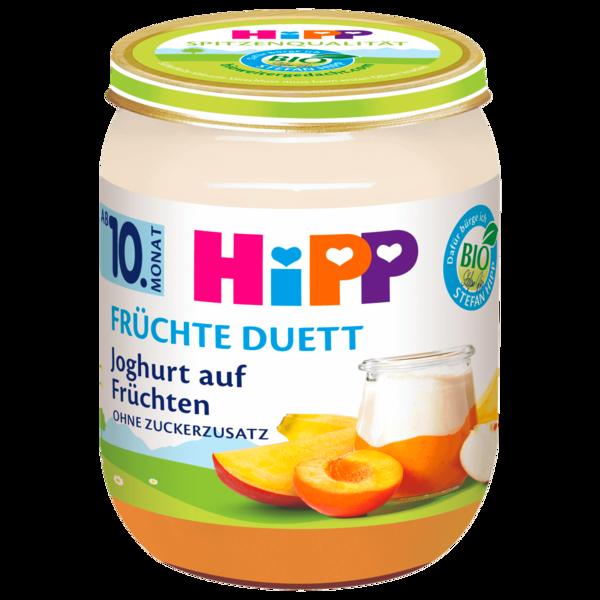 Hipp Früchte-Duett Bio Joghurt auf Früchten 160g