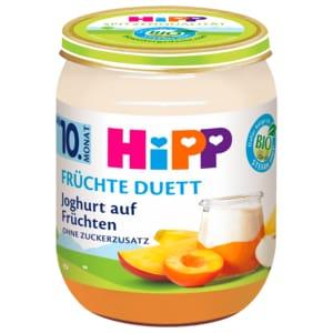 Hipp Früchte-Duett Joghurt auf Früchten 160g