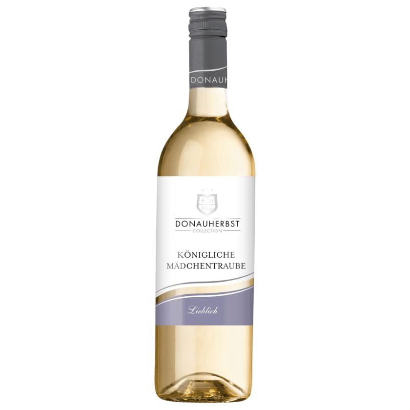 Donauherbst Weißwein Mädchentraube lieblich 0,75l