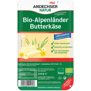Andechser Natur Bio-Alpenländer Butterkäse 150g