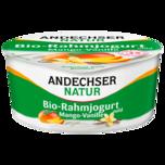 Andechser Natur Bio-Rahmjogurt Mango-Vanille 150g