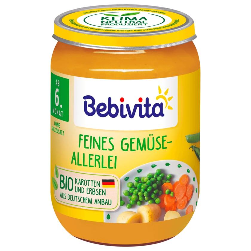 Bebivita Bio Feines Gemüseallerlei 190g