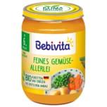 Bebivita Feines Gemüseallerlei 190g