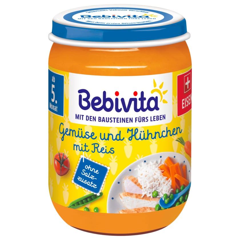 Bebivita Gemüse & Hühnchen mit Reis 190g