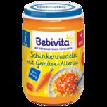 Bebivita Schinkennudeln mit Gemüseallerlei 220g
