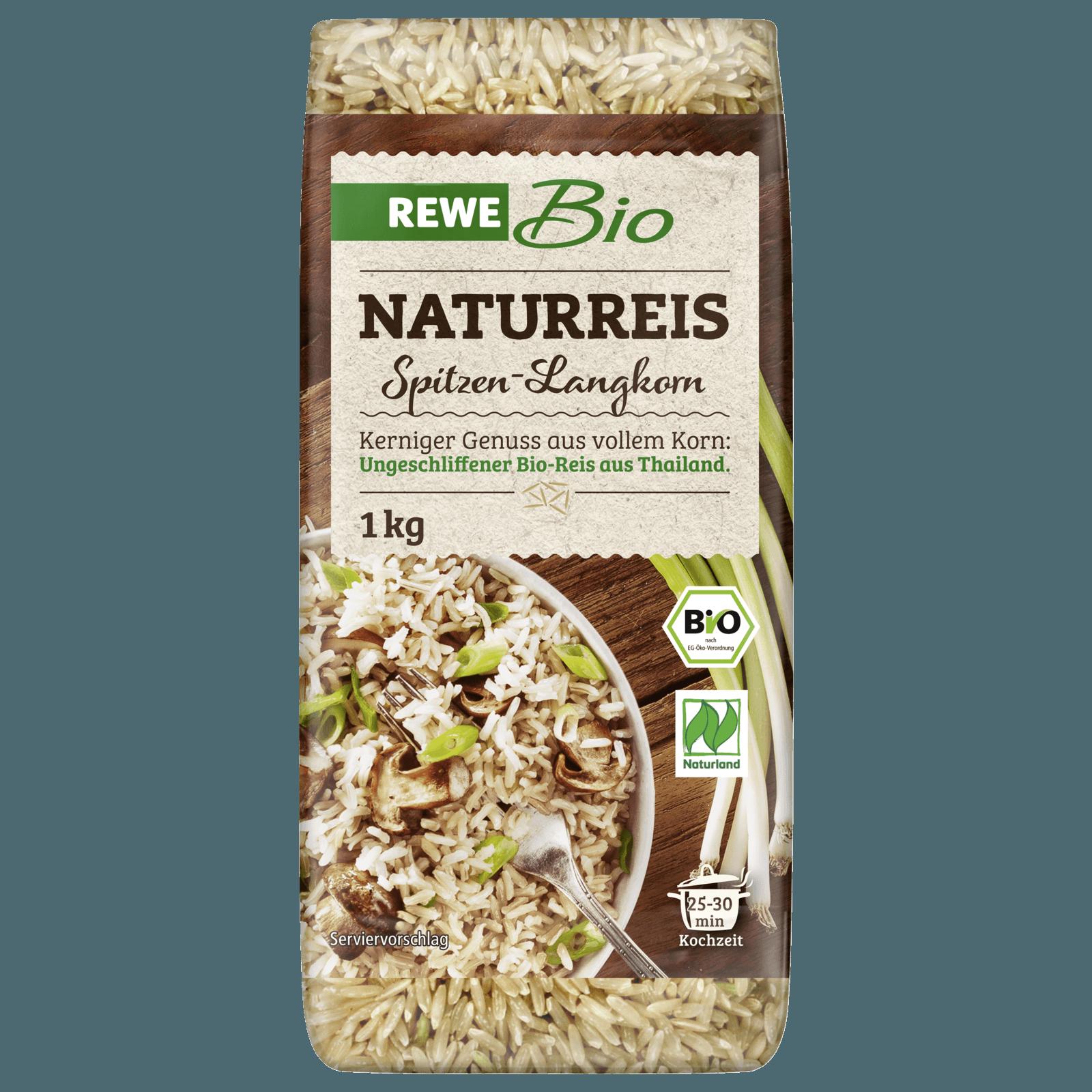 REWE Bio Langkorn Naturreis Spitzenqualität 500g