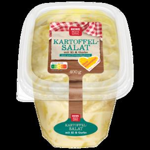 REWE Beste Wahl Kartoffelsalat mit Ei & Gurke 400g