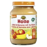 Demeter Bio Holle Apfel & Banane mit Aprikose ab dem 6. Monat 190g