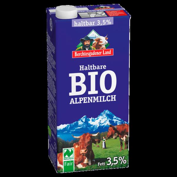 Berchtesgadener Land Haltbare Bio Alpenmilch 3,5% 1l