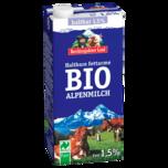 Berchtesgadener Land Haltbare Bio Alpenmilch 1,5% 1l