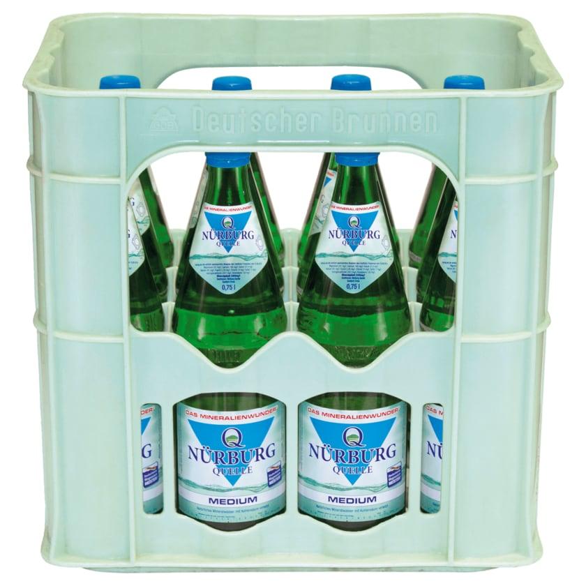Nürburg Mineralwasser Medium 12x0,75l