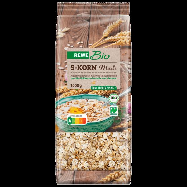 REWE Bio 5-Korn-Müsli 1kg