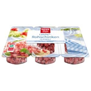 REWE Beste Wahl Leicht-Rohschinken 150g, 3 Stück